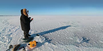 On A New Kind Of Hunt | Gathering Data Under Hudson Bay Ice