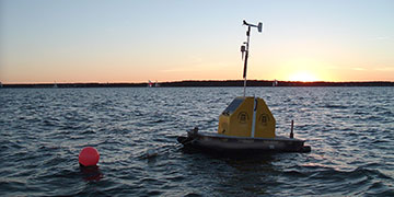 Setting Up Floating Platforms for Continuous Lake Monitoring