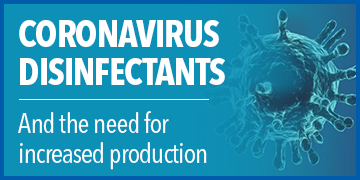 Coronavirus Disinfectants and the Need for Increased Production
