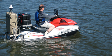 Jag Ski Creates Versatile Platform for Mobile Bay Study