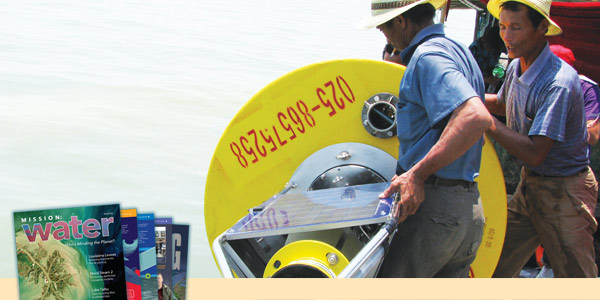 Lake Taihu Water Quality Buoy Deployment
