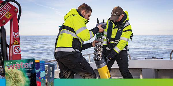 Nord Stream 2 Hydrophone Measures Noise | YSI