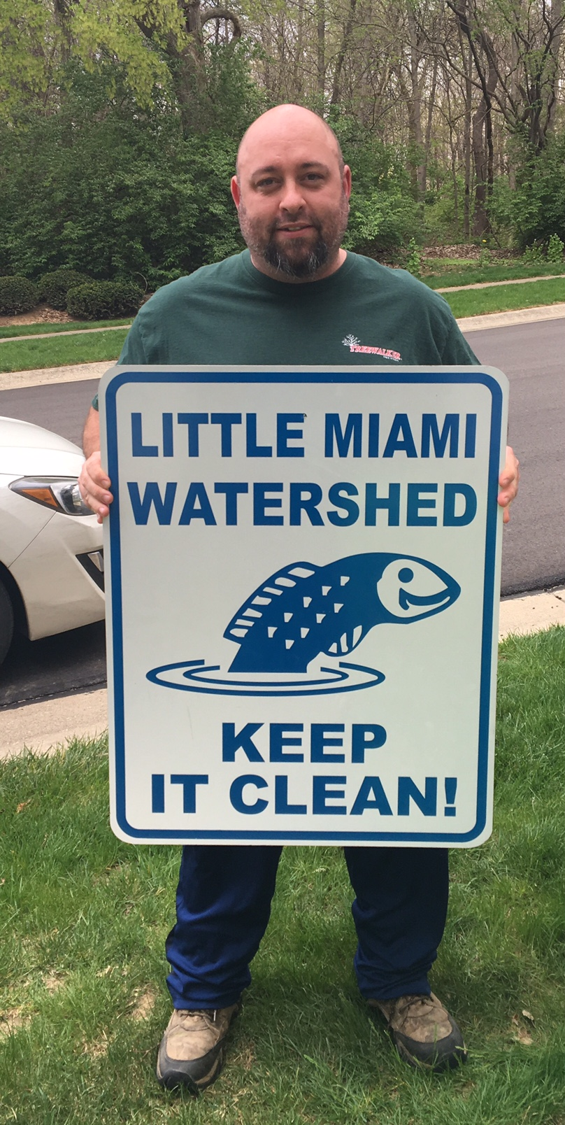 Tony Brewer reminds us to keep the Little Miami Watershed Clean!.jpg