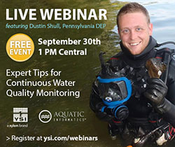 YSI and Aquatic Informatics September 2014 Webinar