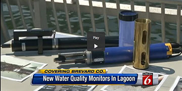 Real-Time Water Quality Monitors Gauge Florida Lagoon's Health