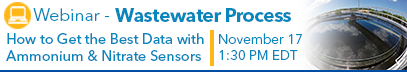 Best Data with Ammonium Nitrate Sensors Wastewater Webinar Banner 11-17-16.png