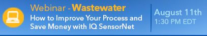Wastewater Improve Your Process with IQSN Webinar Banner