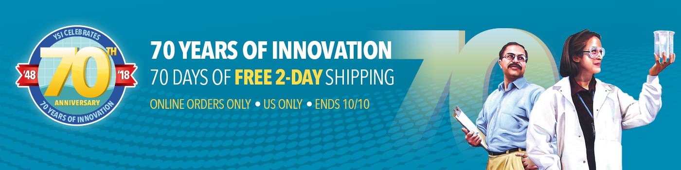 Celebrate 70 Years of Innovation with Free 2-Day Shipping!
