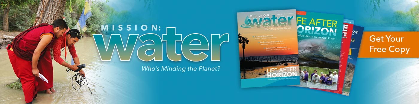 The Magazine Addressing Global Water Issues