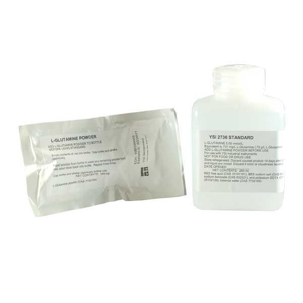 2736 Glutamine Standard, 5 0 mmol/L (250 mL)   ysi com