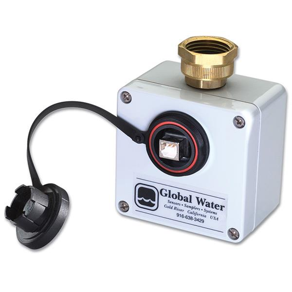 Low Pressure Data Logger : Water pressure data logger records system or