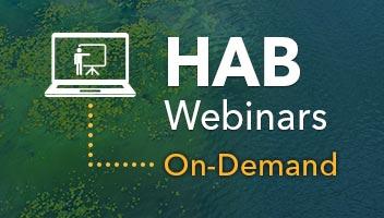 harmful algal blooms training guide webinars