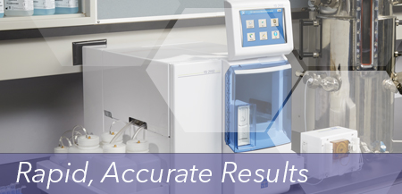 Small sample size and rapid, accurate results with minimal sample preparation are the trade mark features for these electrode-based analyzers.