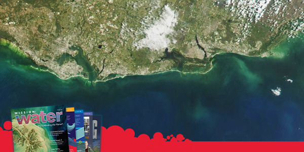 Satellite Image of Florida 2018 Red Tide | YSI