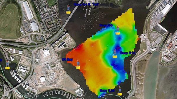 Cardiff Bay Bathymetric Data | YSI