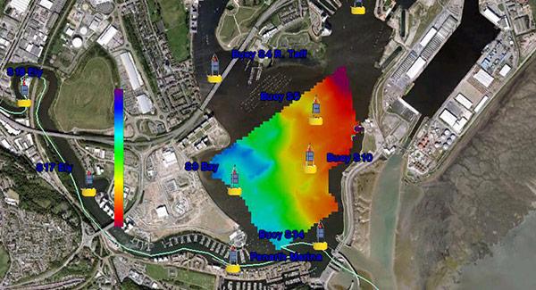 Cardiff Bay Conductivity Data | HYCAT | YSI