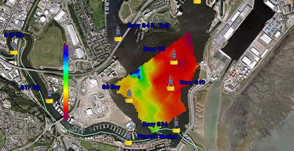 Cardiff Bay Temperature Data | HYCAT | YSI