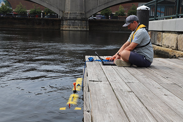 Charles  River | YSI i3XO EcoMapper | Remote Water Quality Monitoring