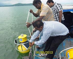 Chilika Lake Buoy Deployment