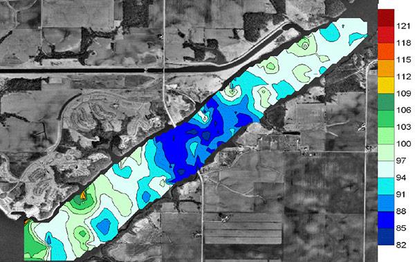 Clinton Lake Study Dissolved Oxygen | HYCAT | YSI