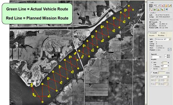 Clinton Lake Study Mission Log | HYCAT | YSI