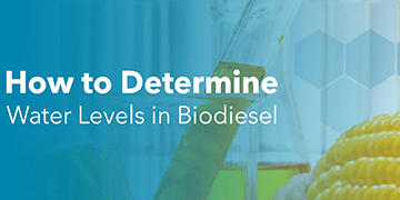Water Levels in Biodiesel with YSI Karl Fischer Titrators