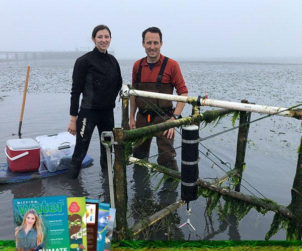 Eelgrass Research | SonTek Argonaut-ADV