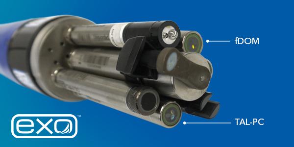 YSI fDOM Sensor on Water Quality Sonde