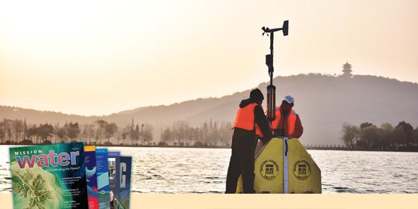 Maintaining Water Quality Buoys on Lake Taihu | Water Quality Monitoring