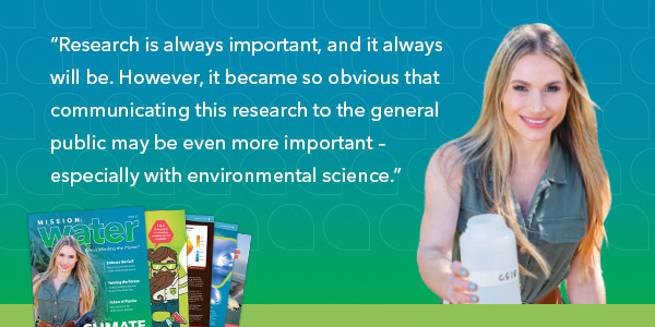 Dr. Tracy Fanara | Citizens Science | Mission Water | YSI