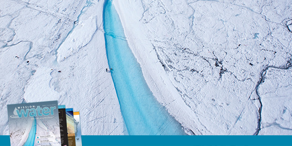 On Ice Stream Flow Data Supraglacial River | YSI