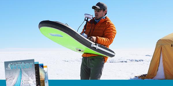 On Ice Stream Flow Data with SonTek RiverSurveyor | YSI