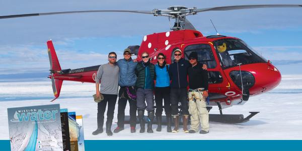 On Ice Stream Flow Data Ground-Truth Model Team | YSI