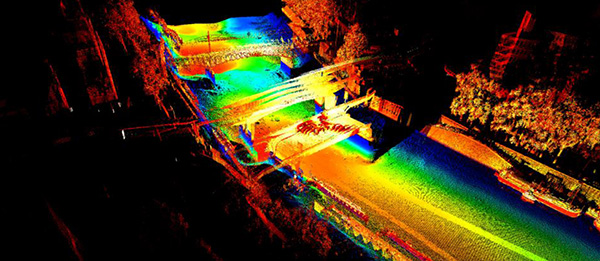 Unmanned Vehicle Watershed Data Visualization | HYCAT | HYPACK