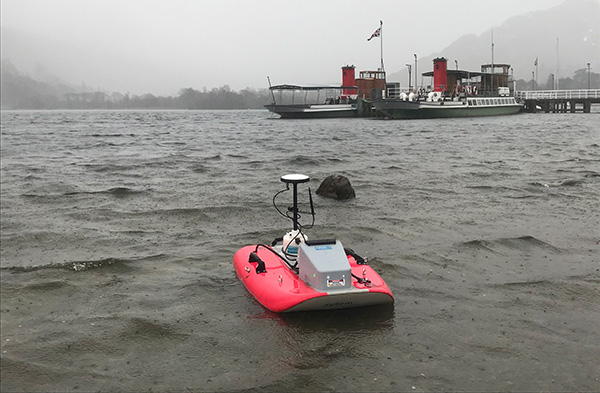 Remote Water Monitoring Vehicle