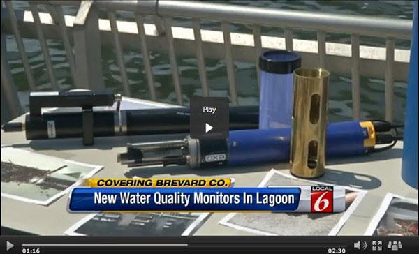 YSI EXO Sondes in Indian River Lagoon Florida