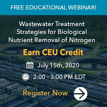 Webinar - Biological Nutrient Removal of Nitrogen