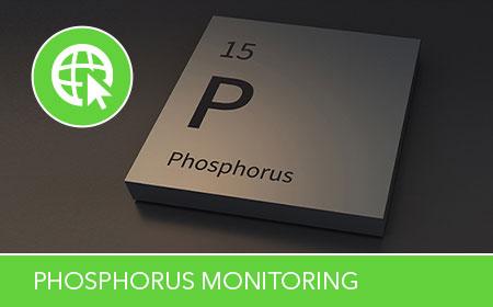 phosphorus monitoring in water