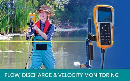 water flow discharge velocity