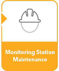 water monitoring station maintenance