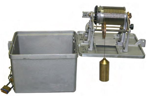 water level measurement wire weight gage